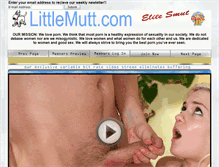Tablet Preview of littlemutt.us